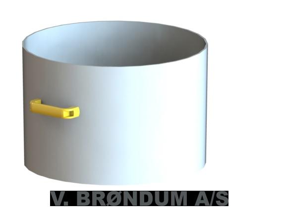 Ronda 40 Liter Behälter ohne Rollen passend für Ronda 2800 H